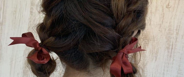ルーズでかわいいヘアセット☆