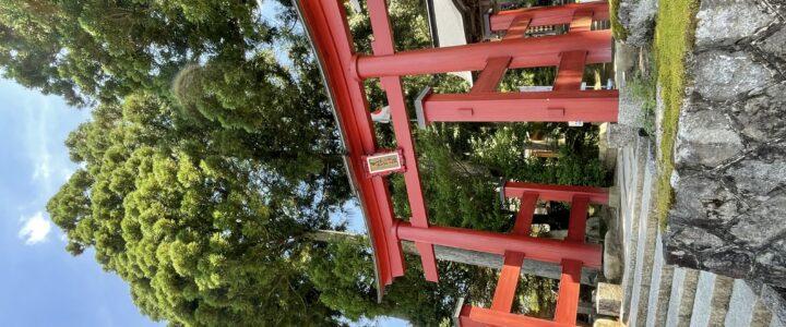 神社女の旅